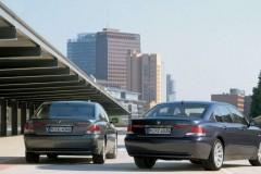 BMW 7 sērijas E65/E66 sedana foto attēls 14