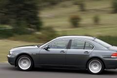 BMW 7 sērijas E65/E66 sedana foto attēls 13