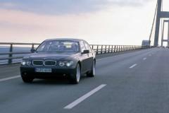 BMW 7 sērijas E65/E66 sedana foto attēls 11