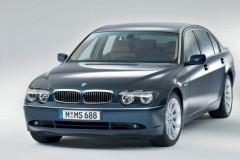 BMW 7 sērijas E65/E66 sedana foto attēls 10