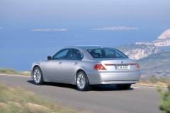 BMW 7 sērijas E65/E66 sedana foto attēls 7