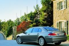 BMW 7 sērijas E65/E66 sedana foto attēls 9