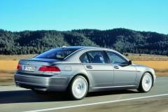 BMW 7 sērijas E65/E66 sedana foto attēls 8