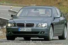 BMW 7 sērijas E65/E66 sedana foto attēls 5