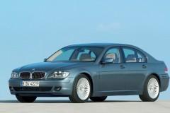 BMW 7 sērijas E65/E66 sedana foto attēls 4