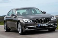 BMW 7 sērijas F01/02 sedana foto attēls 12