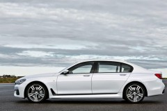 BMW 7 sērijas G11/G12 sedana foto attēls 4