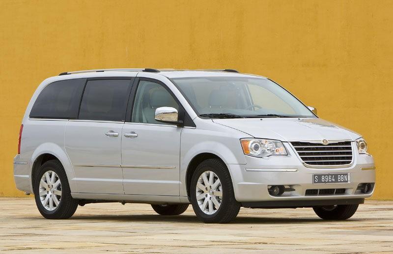 Chrysler Grand Voyager 2008 foto attēls