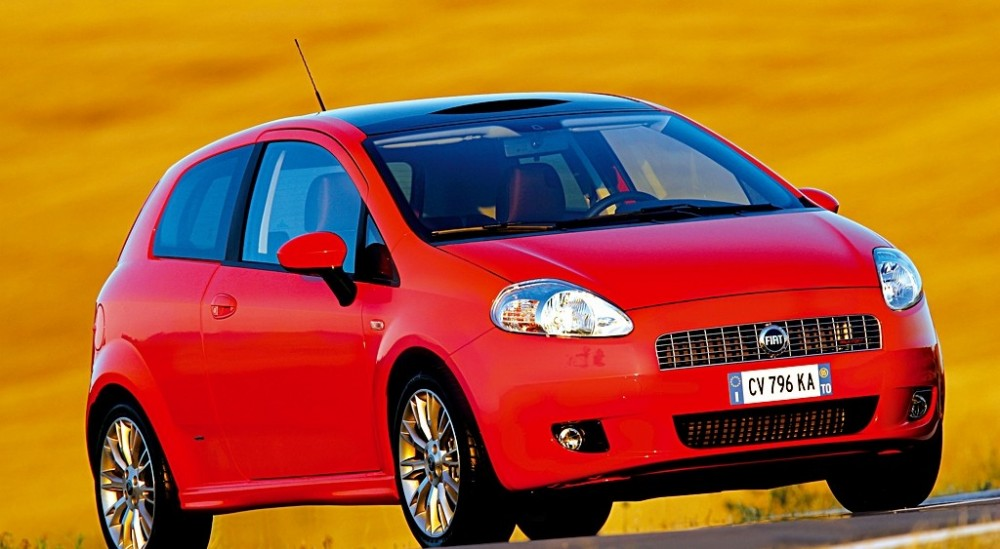 fiat grande punto 3 door hatchback 2006 2008 technical data prices. Black Bedroom Furniture Sets. Home Design Ideas