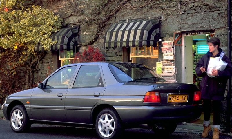ford escort sedan 1995 1998 reviews technical data prices auto abc