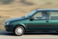 Ford Fiesta 3 puerta hatchback foto 2