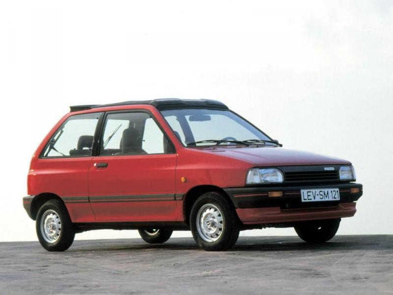 Mazda 121 1996 foto attēls
