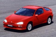 Mazda MX-3 kupejas foto attēls 1