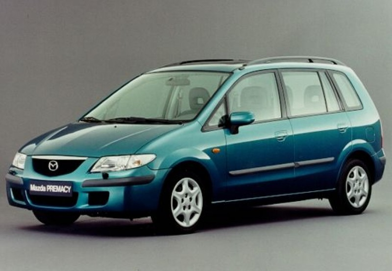 mazda premacy minivan mpv 1999 2001 reviews technical data prices. Black Bedroom Furniture Sets. Home Design Ideas