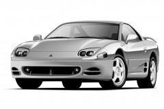 Mitsubishi 3000 GT coupe photo image 1