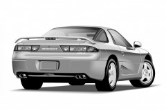 Mitsubishi 3000 GT coupe photo image 5