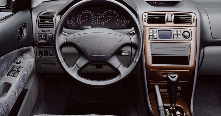 mitsubishi galant sedan 1997 2004 opiniones datos tecnicos precios coche abc