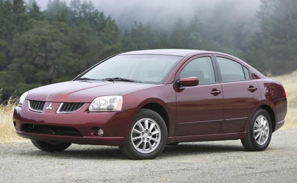 Mitsubishi Galant Sedan 2004 2012 Reviews Technical Data Prices