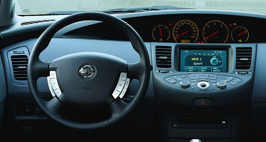 Nissan Primera Estate car  wagon 2002  2004 reviews technical