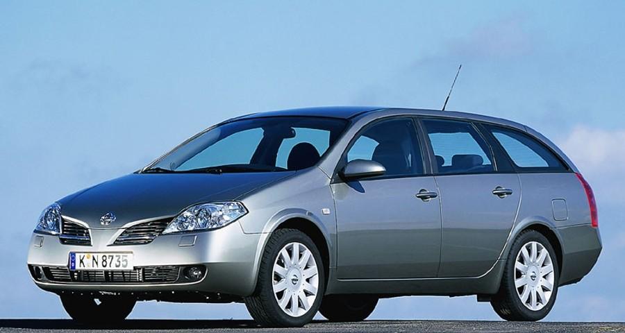 Nissan Primera Estate car / wagon 2002 - 2004 reviews, technical ...
