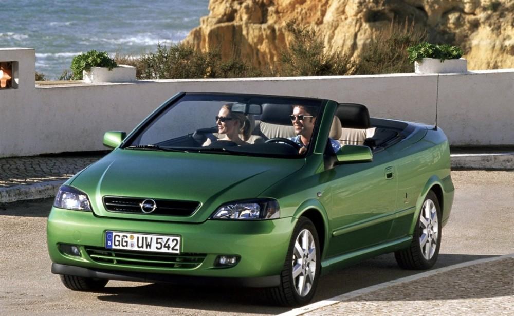 Opel Astra 2001 foto attēls