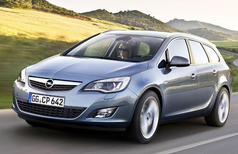 Opel Astra 2010 foto attēls