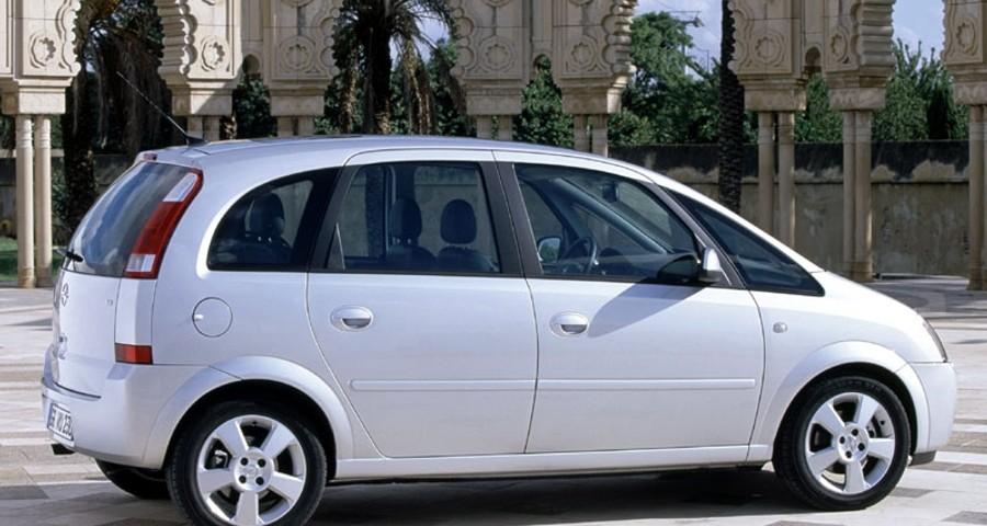 opel meriva minivan mpv 2003 2005 reviews technical data prices. Black Bedroom Furniture Sets. Home Design Ideas