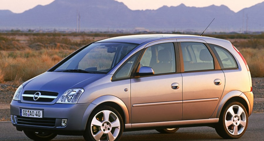 opel meriva minivan mpv 2003 2005 reviews technical data prices. Black Bedroom Furniture Sets. Home Design Ideas