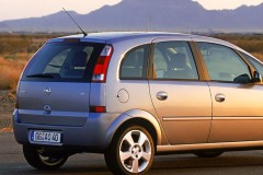 Opel Meriva minivena foto attēls 7