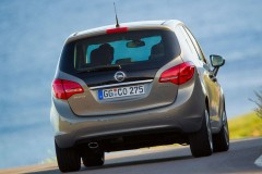 Opel Meriva minivena foto attēls 13
