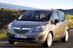 Opel Meriva minivena foto attēls 11