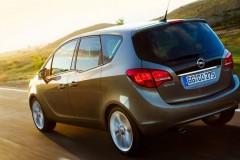 Opel Meriva minivena foto attēls 12