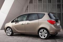 Opel Meriva minivena foto attēls 9