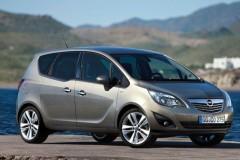 Opel Meriva minivena foto attēls 8