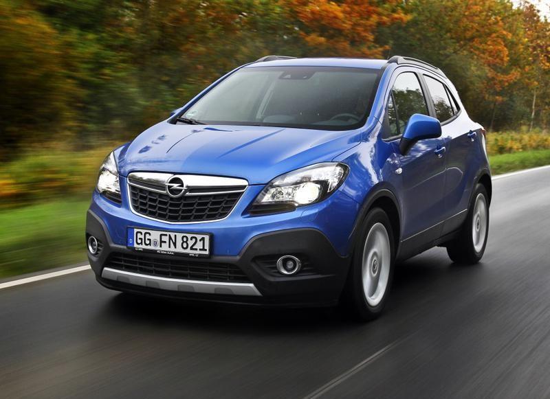 Opel Mokka 2012 foto attēls