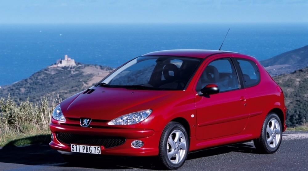 Peugeot 206 2002 foto attēls
