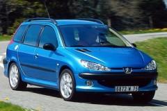 Peugeot 206 universāla foto attēls 10
