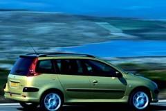 Peugeot 206 universāla foto attēls 7