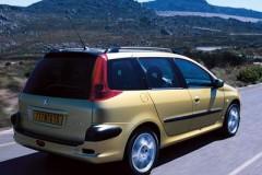 Peugeot 206 universāla foto attēls 3