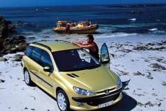 Peugeot 206 universāla foto attēls 2