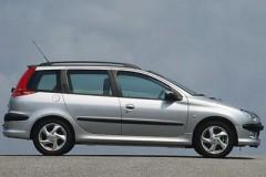 Peugeot 206 universāla foto attēls 11