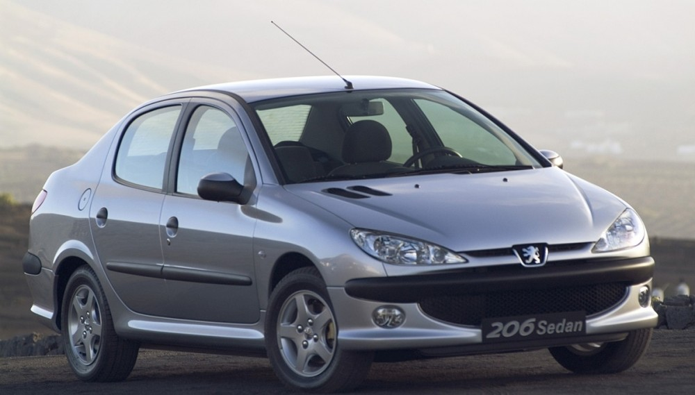 Peugeot 206 Sedan 2007 - 2009 reviews, technical data, prices