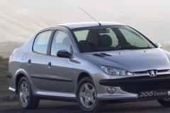 Peugeot 206 sedana foto attēls 3