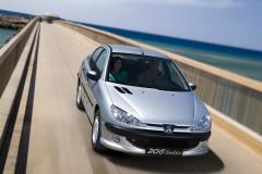 Peugeot 206 sedana foto attēls 6