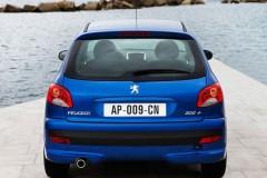 Peugeot 206 hečbeka foto attēls 10