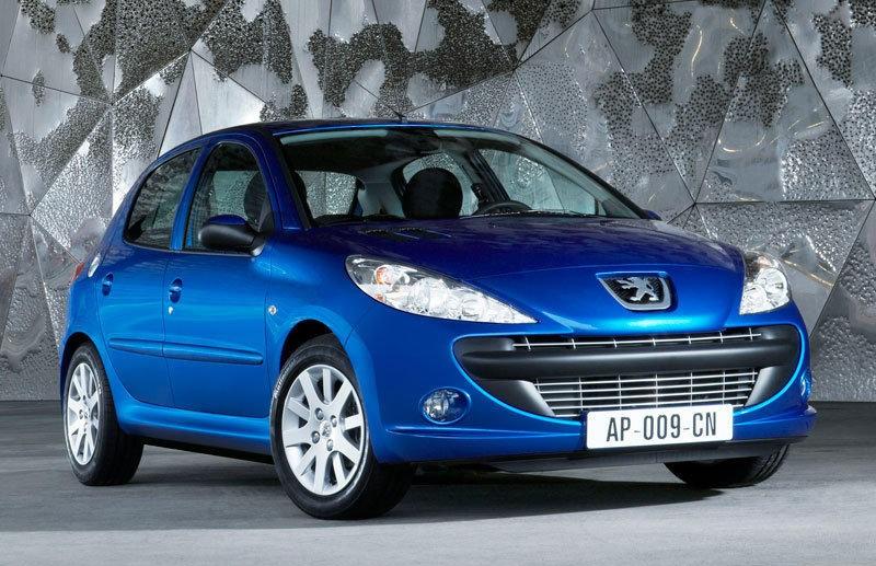 Peugeot 206 2009 foto attēls