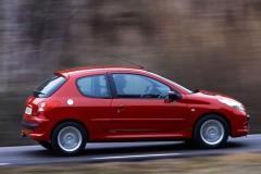 Peugeot 206 3 durvis hečbeka foto attēls 10