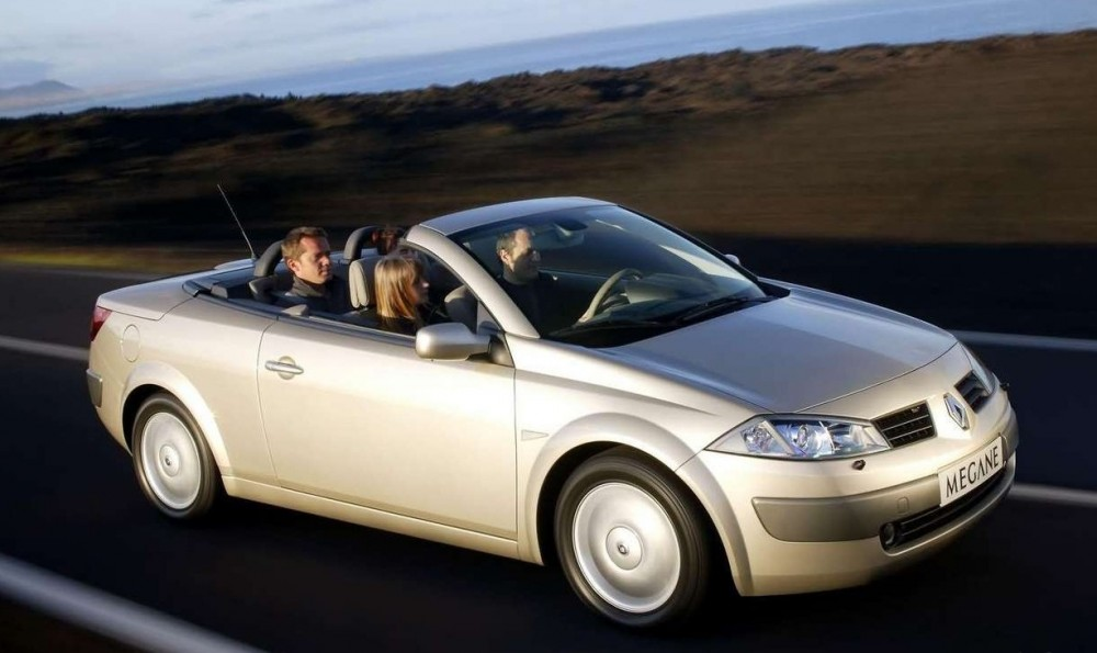 renault megane cabrio 2003 2006 opiniones datos. Black Bedroom Furniture Sets. Home Design Ideas