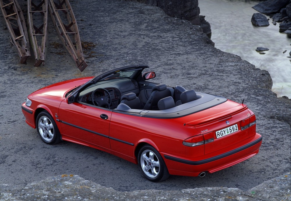 SAAB 9-3 Cabrio 1998 - 2003 reviews, technical data, prices