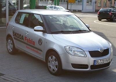 Skoda Fabia 2007 foto attēls